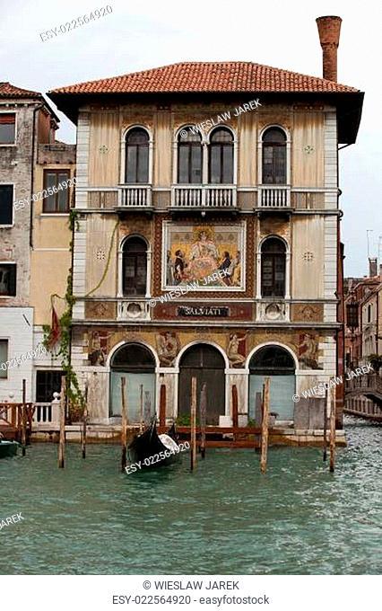 Venice - Exquisite antique building at Canal Grande