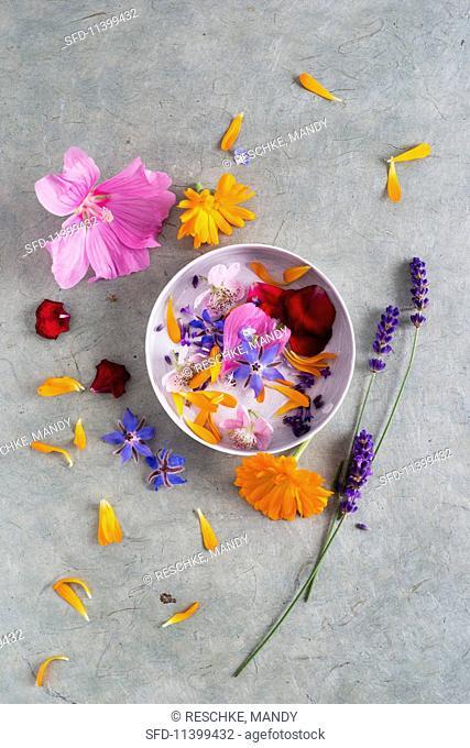 Edible June flowers