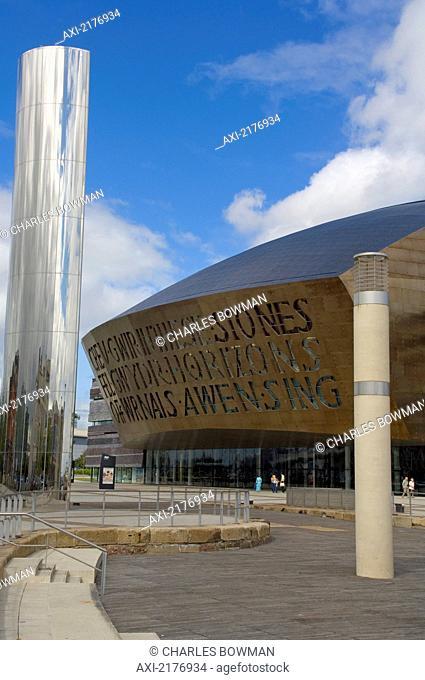 Europe, Uk, United Kingdom, Wales, Cymru, Cardiff, Millenium Center