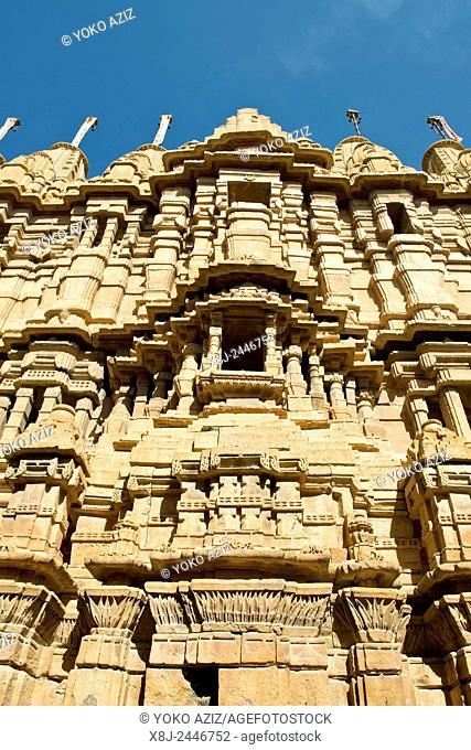 India, Rajasthan, Jaisalmer, Jain temple