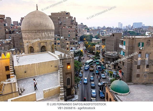 Old Cairo overview. Cairo, Egypt
