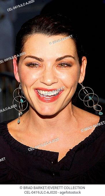 Julianna Margulies at the world premiere of THE MANCHURIAN CANDIDATE, Beekman Theater, July 19, 2004, NY (Photo by Brad Barket/Everett Collection)