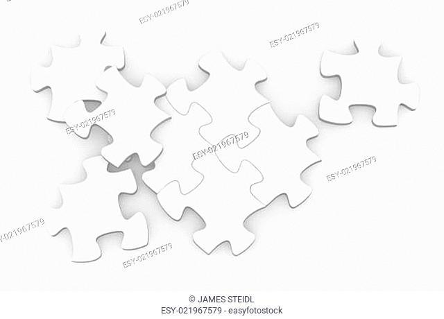 Blank Jigsaw Puzzle