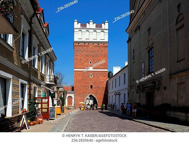 Sandomierz, Opatowska Gate, Poland