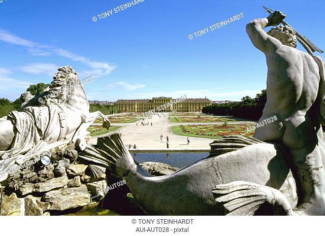 Austria - Vienna - Schonbrunn park