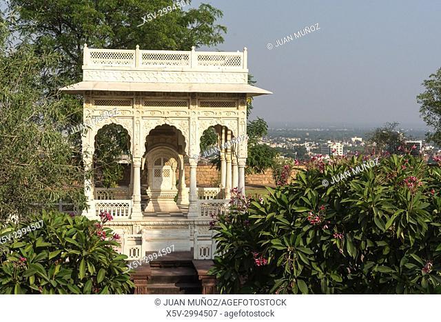 Jaswant Thada Mausoleum, Jodhpur, Rajasthan, India