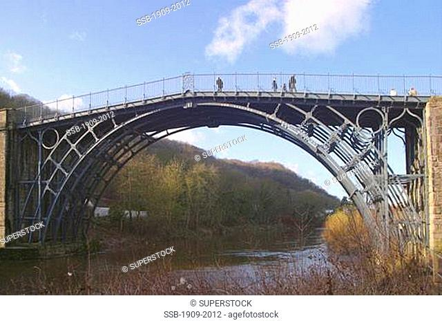 The iron bridge was constructed in 1779 and heralded the start of the Industrial Revolution It has received UNESCO World Heritage status for its historic...