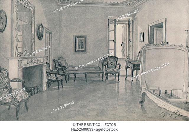 'Room in Which Napoleon Was Born', 1896. Artist: Unknown