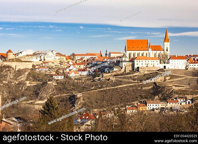 city of Znojmo, Czech Republic