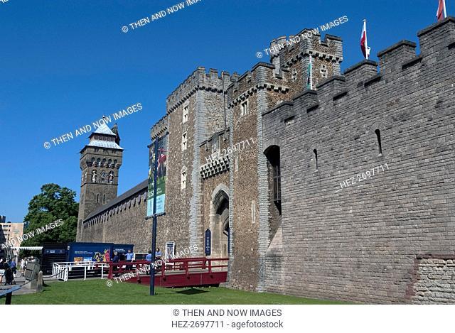 Cardiff Castle, 2009. Creator: Ethel Davies