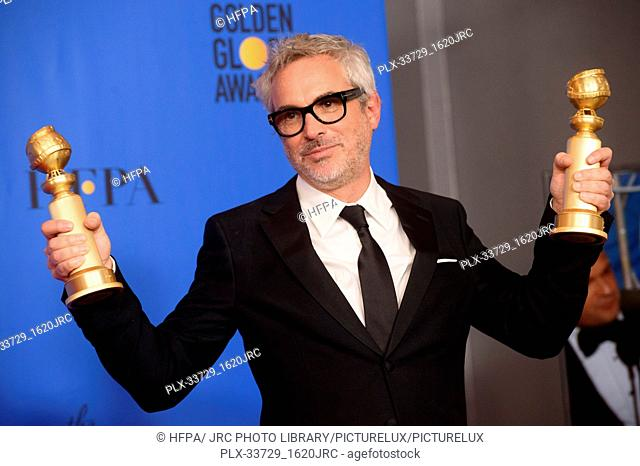 """After winning the Golden Globes for BEST MOTION PICTURE – FOREIGN LANGUAGE and BEST DIRECTOR – MOTION PICTURE for """"Roma"""" (MEXICO)"""