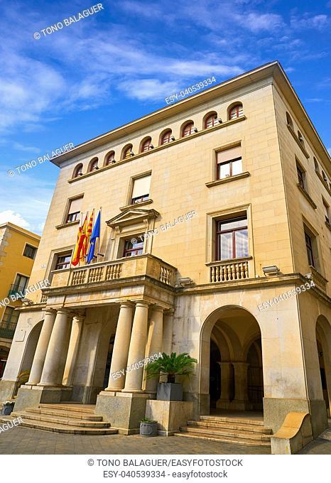 Ajuntament de Figueres city hall in Catalonia Spain