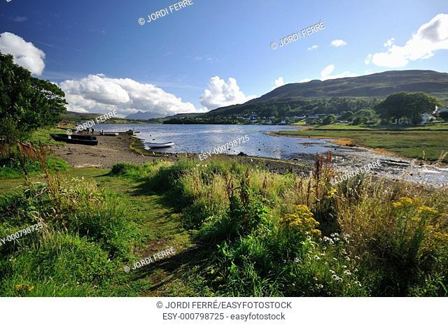 Portree, Isle of Skye, Highlands, Scotland, United Kingdom, Europe