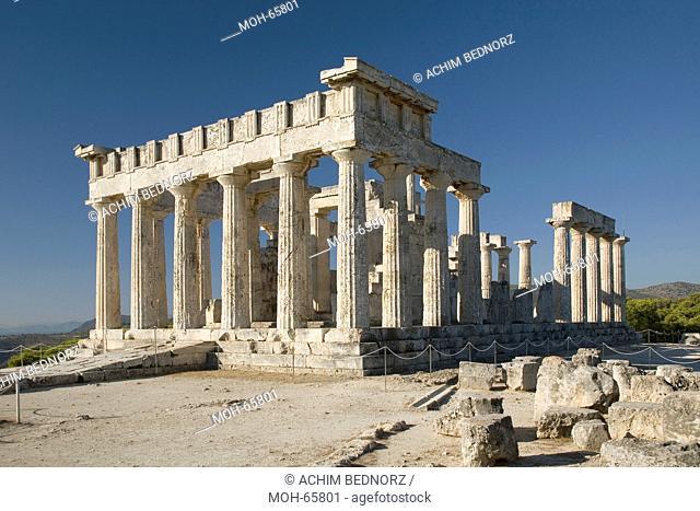 Heiligtum der Aphaia, Tempel