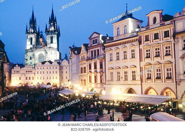 Staré Mesto Square (Old Town). Prague