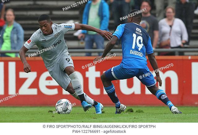 firo: 28.07.2019, football, 1.Bundesliga, season 2019/2020, friendly match, Bayer 04 Leverkusen - Heracles Almelo Leon BAILEY, Leverkusen