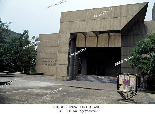 Buldings in the UNAM University City (Ciudad Universitaria) (Unesco World Heritege List, 2007), 1950-1955, Mexico City. Mexico, 20th century
