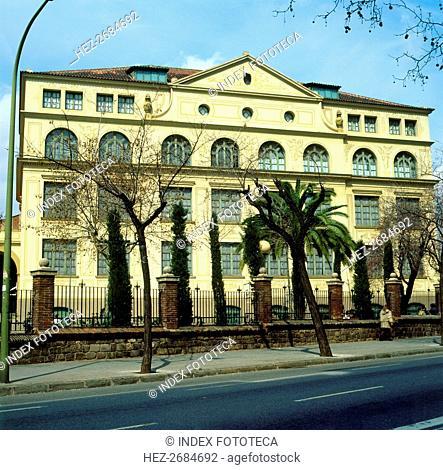 Ramon Llull School 1919-1923, by Josep Goday i Casals