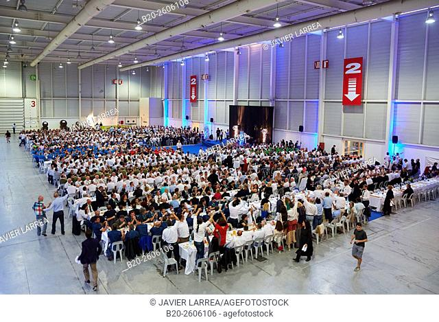 Dining room for 1,500 people. Ficoba, Basque Coast International Fair. Irun. Gipuzkoa. Basque Country. Spain