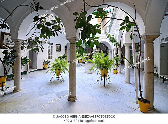 Traditional House. Sanlúcar de Barrameda. Cádiz province. Andalusia. Spain