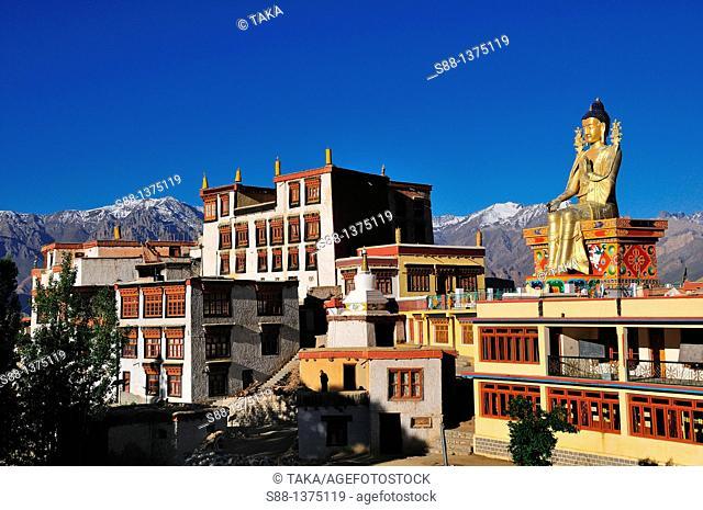 View of Likkir monestry