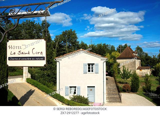Hotel Le Saint Cirq, Saint Cirq Lapopie, Midi Pyrénées, Lot, France