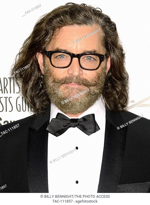 Timothy Omundson attends 2016 Make-up artists and Hair Stylists Guild Awards at Paramount Theatre at Paramount Studios on February 20, 2016 in Hollywood