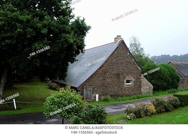 Europe,France,Bretagne, Brittany region, Boubansais,Pleugueneuc Village