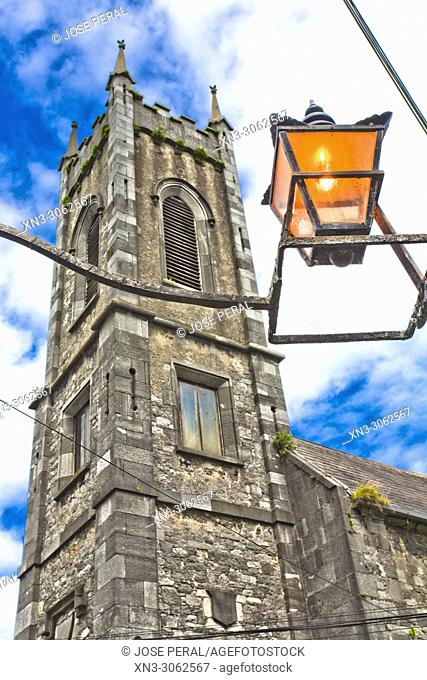 St. Mary's Medieval Mile Museum Tower, Kilkenny town, County Kilkenny, province of Leinster, Ireland, Europe