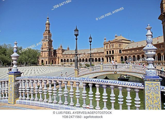 Plaza of Spain, Sevilla, Spain