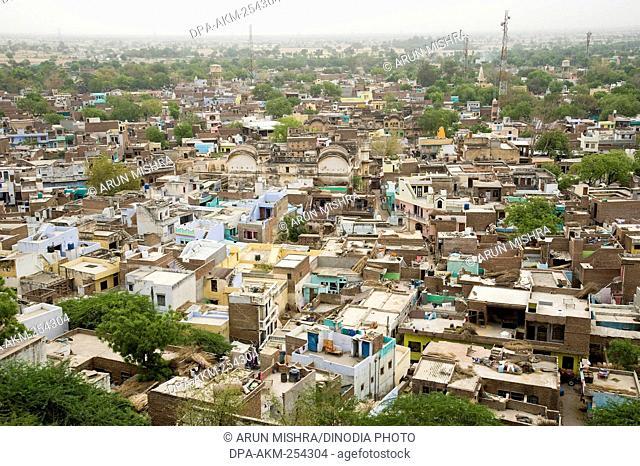 City, barsana, mathura, uttar pradesh, india asia