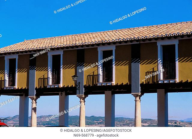 Cehegín. Main square. Murcia province. Spain
