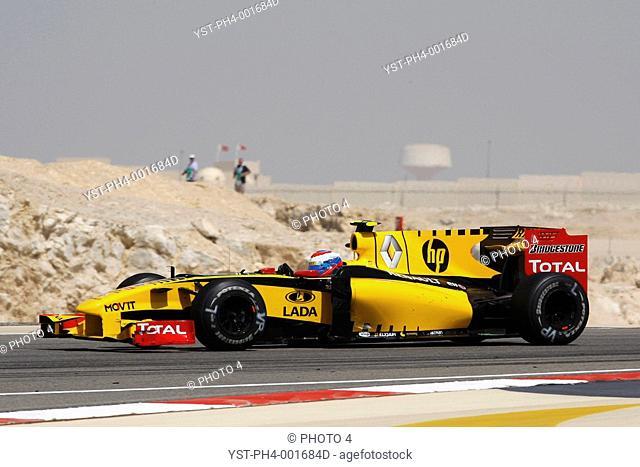 Race, Vitaly Petrov, Renault R30, 14/03/10, Bahrain, Persian Gulf