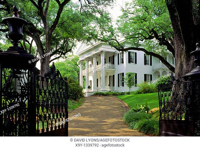 Natchez, Mississippi, USA  Stanton Hall antebellum plantation mansion house