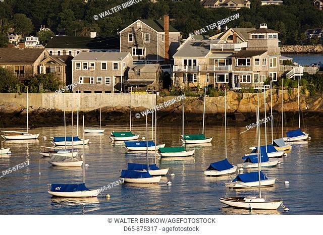 Harbor view in the morning, Rockport, Cape Ann, Massachusetts, USA