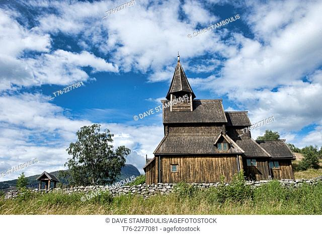 UNESCO World Heritage stave church in Urnes, Norway