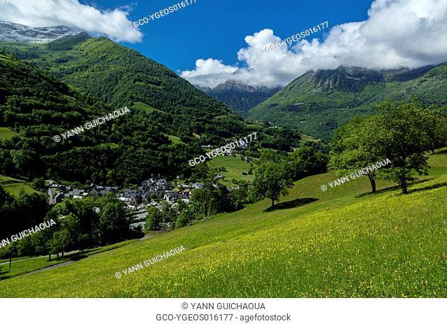 Luz Saint Sauveur, Hautes Pyrenees, France