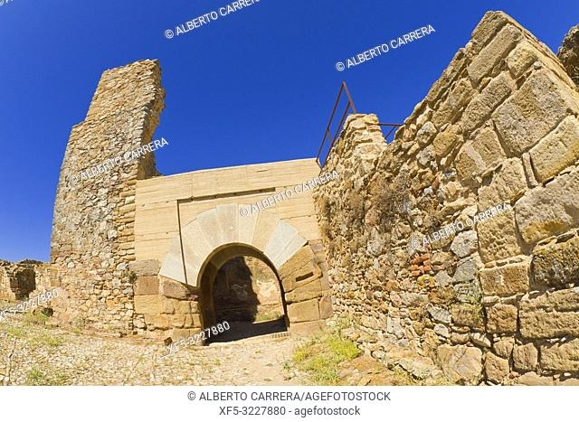 Alcazaba de Reina, Castillo de Reina, Castle of Reina, Arabian Citadel, Good of Cultural Interest, Artistic Historical Monument, Reina, Badajoz, Extremadura