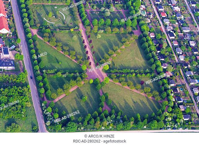 Park, Magdeburg-Ottersleben, Saxony-Anhalt, Germany