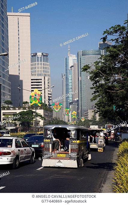Philippines. Manila. Makati District