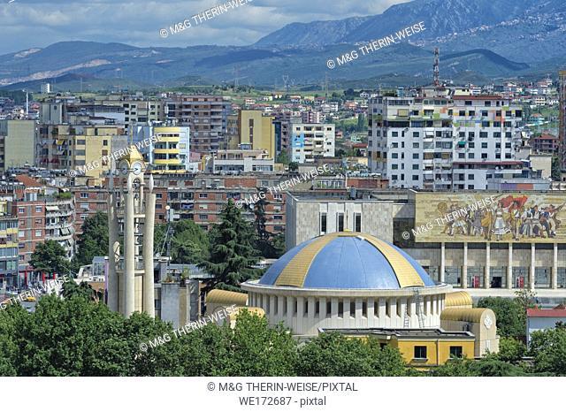 View over Tirana, Tirana, Albania