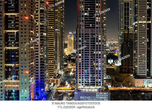 Dubai Marina is a district in the heart of what has become known as 'new Dubai' in Dubai, UAE. Dubai Marina is a canal city