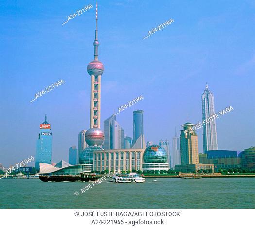 Pudong. Shanghai. China