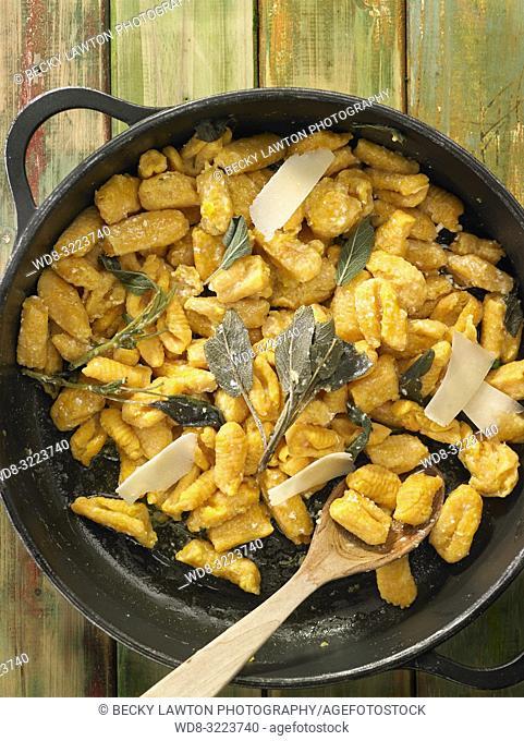 gnocchi de calabaza / pumpkin gnocchi