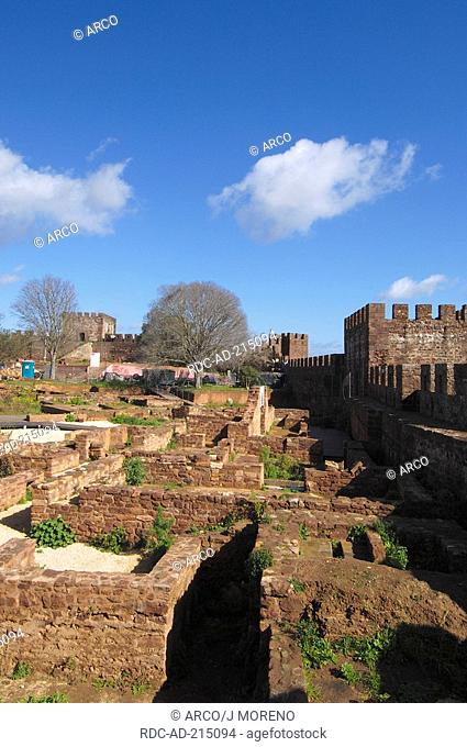 Fortress of Silves, Algarve, Portugal, Castelo de Silves