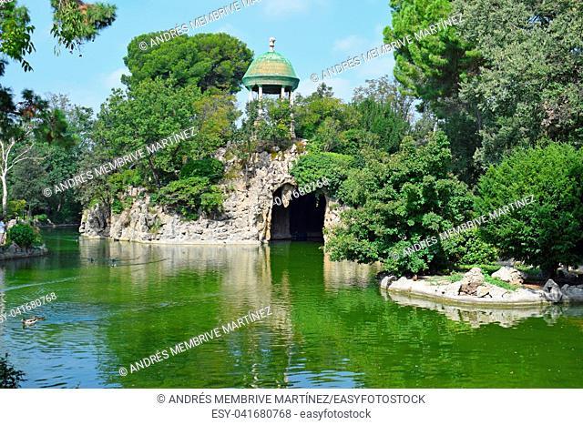Torre Blanca Park in Sant Just Barcelona