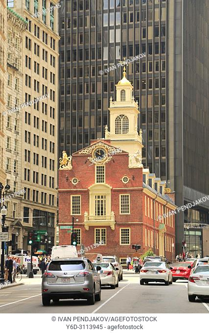 The Old State House, Boston, Massachusetts, USA
