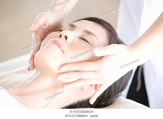 Japanese Woman, Beauty Treatment Salon