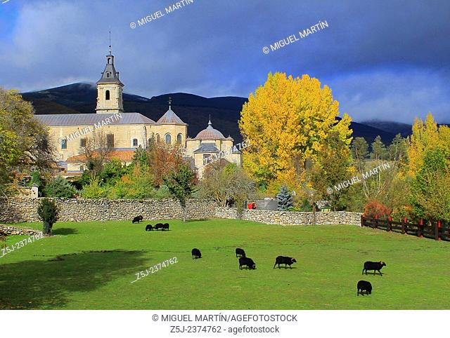 The Carthusian monastery of El Paular, finished by the king John I of Castile, was started in 1390 by his father Henry II to apologize for have burnt a...