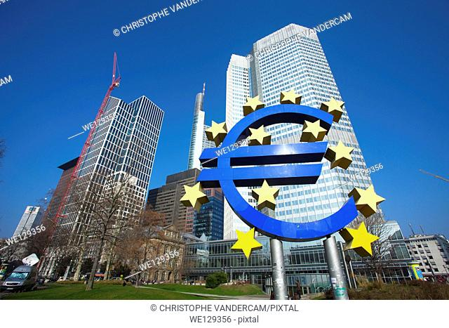 European Central Bank ECB in Frankfurt, Germany